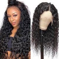 Lace Wigs 13x6 Front Wig Brazilian Water Frontal 250 Density Curly Human Hair For Women Pre Plucked