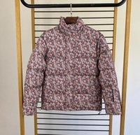 Winter Designer Jacke Mäntel für Männer Frauen Daunen Parkas mit Buchstaben Blumen Mode Mens Jacken Streetwear Warme Homme Unisex Mantel