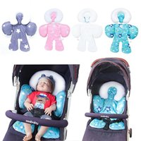 Stroller Parts & Accessories Babys Cushion Car Seat Carriage Thermal Double Side Pad Liner Kids Shoulder Belt Strap Cover Neck Protecor