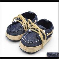 Walkers Baby, Kids & Maternityspring Autumn Baby Girl Boy Soft Sole First Walker Laces Casual Prewalker Sapatos Kawaii Anti-Slip Shoes Drop