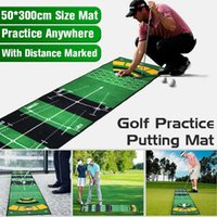 1 PCS Tapete de Golfe Mini Putting Ball Pad Pratics Mat Indoor Outdoor Lavável Anti-Slip Verde Formação Auxiliares