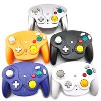 تحكم ألعاب المقود ل NGC Gamepad 2.4G Wireless N G C Pad Joinstick Will GameCube Controller1