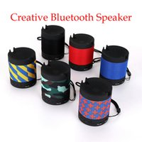 Creative Bluetooth Speaker Wireless Suction Chuck Car Mini MP3 Support Radio Dustproof Voice Prompt Call Function built-in lithium battery