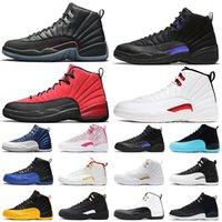 Retro Air Jordan 12 Zapatillas de baloncesto 12S Utility Dark Concord Indigo Game Royal Twist Women Mens Trainers Deportes Zapatillas deportivas