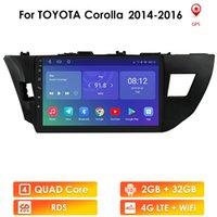 10.1 '' 2din Android STEREO PARA TOYOTA COROLLA \ RALIGH 2013 2014 2014 2015 2016 Coche Radio Multimedia Player 2 DIN Navigation GPS WIFI