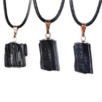 Irregular Natural Stone Handmade Chain Pendant Necklaces For Women Men Decor Lucky Jewelry Fashion Accessories