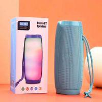 TG157 Tragbare LED Bluetooth Lautsprecher Wireless Waterproof Radio Mini-Säule Bass MP3 Subwoofer USB-TV-Sound-Bar-Box 1200mAh