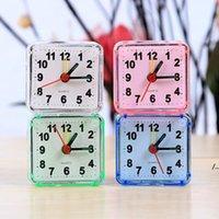 Desktop Wecker Tragbare niedliche Mini Cartoon Multifunktionsausflug Bett Beep Clock Home Decoration DWB5952