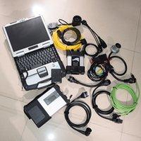 Versione più recente professionale 2021-06V 1TB HDD 2IN1 per BMW Icom Programmatore Avanti e MB Star C5 Set completo con laptop CF19