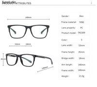 Anti Blue Light Gläsern Für Männer Flache Frauen blockieren Herren Sonnenbrillen