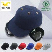snapback seis buracos trabalho portátil esmagar o capacete de pano capacete de segurança proteção de segurança tipo base local de construção respirável