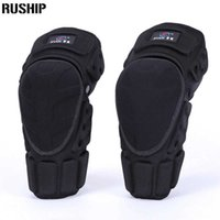 Kevlar 2pcs Knee And Elbow Support Adult Field Pulley Bike Motorcycle Knee Protector Brace Protection Elbow Pads Riding Exercise Q0913