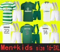 الكبار والأطفال 21 22 سلتيك لكرة القدم الفانيلة 2021 أسود إدوارد جونستون جريفيبرز ماكجريجور مايلوتس دي فوت فورست لكرة القدم قمصان الزي الرسمي