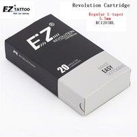 EZ Revolution картридж татуировки иглы # 12 0,35 мм круглый вкладыш RC1201RL RC1203RL RC1205RL RC1207RL RC1209RL 11/14/18RL 20 шт. / Лот 210323