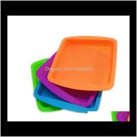 """Boxes Bins Storage Housekeeping Organization Home & Gardensile Wax Dish Deep Trays Shape 8""""X8"""" Food Garde Container Concentrate Square Sile"""