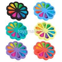 Fitget Toys jeu jeu pour adulte kid push bulle it fidget sensoriel jouet autisme a besoin spécial Stress Reliever Figegoed Speelgoed