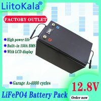 Liitokala 12V 12.8V Batterien Packung 90ah 100ah 120ah 150ah 180ah 200ah 280ah 300ah LIFEPO4 Batterie für RV Camper Golfwagen Off-Road Off-Raster