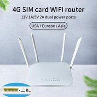 Smart Power Bugs LC117 LTE WIFI ROUTER SIM CARD SLOT MODEM SPOT 32 Utilisateurs RJ45 X4 SANS SANS 4G CPE MI TV Câble numérique