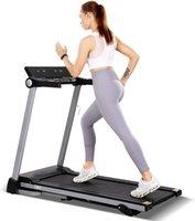 17 inç geniş katlanabilir koşu bandı elektrik koşu bandı, ev spor salonu egzersiz ekipmanları için uygun, montajı kolay