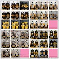 Reverse Retro Hockey 87 Sidney Crosby Jerseys Gold Stadium 시리즈 71 Evgeni Malkin Jake Guentzel Phil Kessel Mario Lemieux Kris Letang Patric Hornqvist Jason Zucker