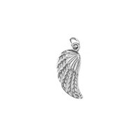 Wholesale stainless steel angel wings exquisite pendant men and women can wear necklace simple jewelry gift holiday gift