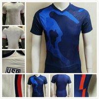 2021 미국 축구 유니폼 21 22 US Pulisic Yedlin Bradley National Team Wood Dempsey Altidore USMNT 축구 셔츠 플레이어 버전