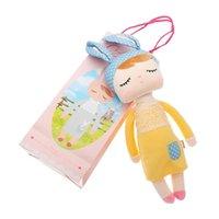 Metoo Angela 33cm Cartoon Kaninchen Stofftuch Plüschpuppen Spielzeug für Geburtstag Weihnachten