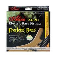 أليس سلسلة باس سلسلة كاملة مجموعة كاملة 4 أجزاء باس أجزاء الجيتار الكهربائية الملحقات سلاسل الحفل A628
