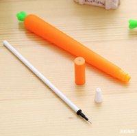 Bolígrafo Suministros de escritura Oficina Escuela Negocio IndustriacuteCute Negro Relabajo Neutral Papelería Coreano Personalizado Signature Gel Pens ST