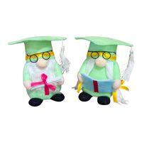 Party Plush Gnome Happy Пасха День матери Выпускной USA Patriotic Dwarf Кукла Кукла Домашняя Столовое Украшение GGA4320