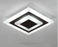 LED 천장 조명 Lampara Techo Dormitorio 디 밍이 가능한 표면 마운트 플러시 부엌 복도 욕실 공부 현대 plafon