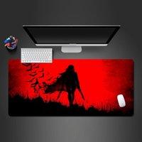 마우스 패드 손목은 혈액 여성 군인 패드를 달성합니다 - 고품질 천연 고무 빨 수있는 애니메이션 매트 노트북 키보드 일정