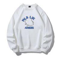 Hoodies T Shirt Spring Fashion Brand Wei Yi Small Wrinkle Chrysanthemum Graffiti Digital Printing Stereo Pattern Men and Women Lovers &0013