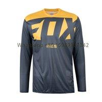 Fox Ines Men Motocross Велоспорт Jersey GPX 4.5 Lite Downhill MTB Мотоцикл Футболка New Racing Downhill Джерси