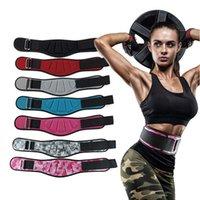 Fitness Poids de levage de la taille de la taille de la ceinture de soutien de la taille Double pression réglable Barbell Dumbbel Entraînement Back Gym Squat Powerlifting Protect Protect