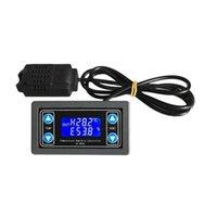 Controllo domestico intelligente 10A Termostato Termostato Controller di umidità della temperatura digitale con display LCD DC 6V-30V Regolatore termico termocoppia