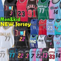Chicago Bulls Dallas Mavericks Michael 77 Doncic Jersey Jordan Wade MJ Luka 23 9 Dwyane Porzingis Dwayne Dennis 91 Rodman Scottie 33 Pippen Jimmy Tyler 14 Herro Butler Basketbol