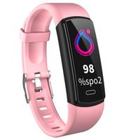 Y29 Smart Mulseras Pulsera Fitness Pulsera Corazón Presión arterial Monitor Monitor Tracker SmartWatch Band Women Ladies Watch for iOS Android Teléfono