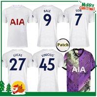 21 22 Kane Sohn Bergwijn ndombele Fussball Trikots 2021 Tottenham Lucas Dele Jersey Fussball Hemd Lo Celso Bale Erwachsene Männer + Kids Kit