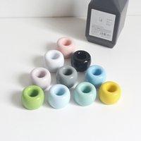 Supporto per doccia colorato Spazzolino da denti rack Accessori da bagno Creativo Stoviglie in ceramica