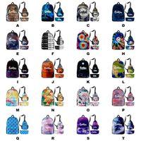 Bolinhos Backpack Backpack Pacote de Ombro Pena Saco 3 Pcs Viajando Sacos Escolares Para Pacotes de Charutos Laptop Ao Ar Livre Caminhada E Cigs Capas DHL