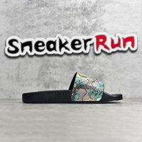 Gucci Designer Rubber slide sandal Flip Flops Floral slippers for men women Sandals Summer Beach Indoor Flat G with Box