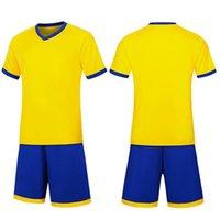 2021 Set di calcio Tavola liscia Camicia gialla Assorbinazione Assorbinazione Traspirante e Soft Training Suit Jersey 806