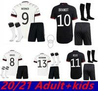 21 22 독일 홈 멀리 축구 유니폼 2021 2022 Alemania Maillot Reus Brandt Ginter Kimmich Havertz Kroos Werner Gnabry 남자 아이들 축구 셔츠
