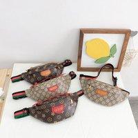 Mode Kinder Handtaschen Einzelner Schulter Crossbody Bag Letters Druck Hohe Qualität Große Kapazität Designer Jungen und Mädchen Casual Taille Taschen
