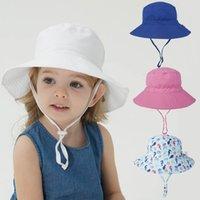 Kinderhut Baby Sonnenhut Atmungsaktive Basin Cap Kinder Dinosaurier, Seepferdchen, Blumenstrand Fischer Hüte für Jungen Mädchen