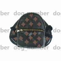خمر براون الزهور الكلاب على ظهره أزياء جلدية في الهواء الطلق حقائب الظهر chihuahua البلدغ bichon شنافير كورجي المقود حقيبة