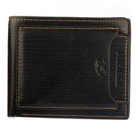 Кошельки мужские роскоши PU кошелек карманы деньги кошелек ID сцепления Bifold Classic Titolare Della Carta Tinta Unita # 3