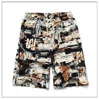 2021 Pantaloni da basket Summer Style Hot Style Cotton and Lenzy Stampato Big Pantaloni Big Pantaloni Beach Uomo Sport sciolto CCC555