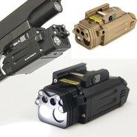 CQC Tactical DBAL IR Red Laser Light for Scope Combo Airsoft LED Flashlight Paintball Hunting Shooting Pistol Gun Lights